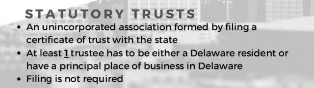 Delaware statutory trust