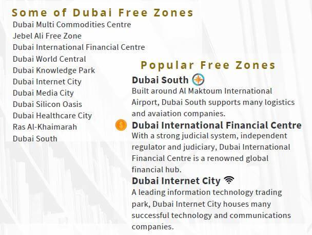 Dubai Free Zones2