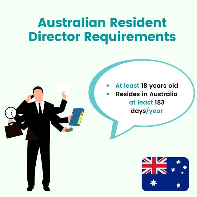 Australia resident director requirements