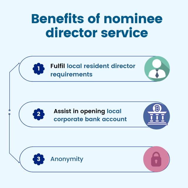 benefits of nominee director service